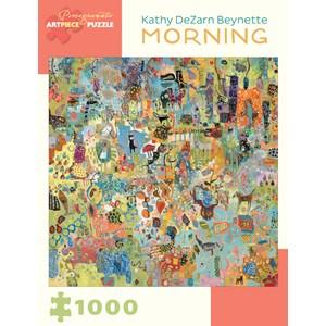 """Pomegranate (AA901) - Kathy DeZarn Beynette: """"Morning"""" - 1000 pièces"""