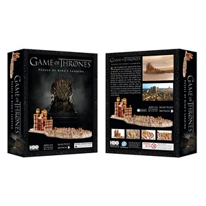 """4D Cityscape (51003) - """"3D Game of Thrones: Kings Landing"""" - 260 pièces"""