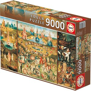 """Educa (14831) - Jerome Bosch: """"Le Jardin des délices"""" - 9000 pièces"""