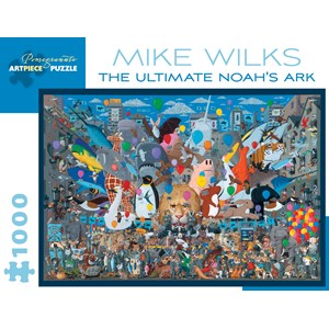 """Pomegranate (AA895) - Mike Wilks: """"The Ultimate Noah's Ark"""" - 1000 pièces"""
