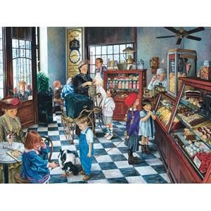 """SunsOut (44246) - Susan Brabeau: """"Confectionary Shop"""" - 1000 pièces"""