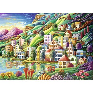 """Ravensburger (19402) - Andy Russell: """"Dream City"""" - 1000 pièces"""