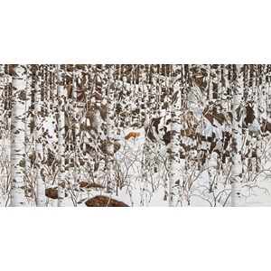 """SunsOut (74402) - Bev Doolittle: """"Woodland Encounter"""" - 500 pièces"""