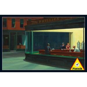 "Piatnik (538445) - Edward Hopper: ""Nighthawks, 1942"" - 1000 pièces"