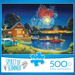 """Buffalo Games (3886) - George Kovach: """"Spirit of Summer (revised)"""" - 500 pièces"""