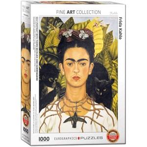 "Eurographics (6000-0802) - Frida Kahlo: ""Frida Kahlo"" - 1000 pièces"