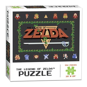 "USAopoly (PZ005-462) - ""The Legend of Zelda™ Classic"" - 550 pièces"