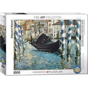 "Eurographics (6000-0828) - Edouard Manet: ""Le Grand Canal, Venedig"" - 1000 pièces"