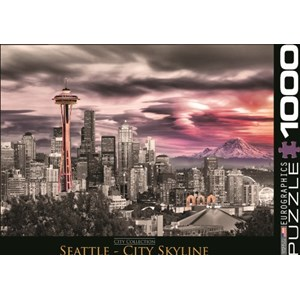 "Eurographics (6000-0660) - ""Seattle City Skyline"" - 1000 pièces"