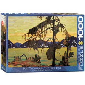 "Eurographics (6000-7166) - Tom Thomson: ""The Jack Pine"" - 1000 pièces"
