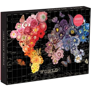 """Chronicle Books / Galison (9780735351202) - Wendy Gold: """"Full Bloom"""" - 1000 pièces"""