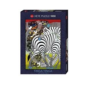 "Heye (29425) - Edward Tingatinga: ""Zebre"" - 1000 pièces"
