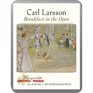 "Pomegranate (AA796) - Carl Larsson: ""Breakfast in the Open"" - 100 pièces"