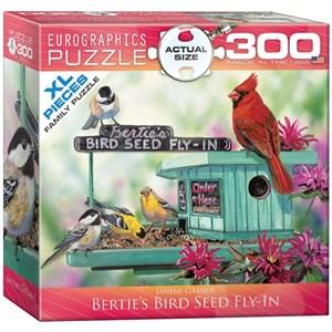 """Eurographics (8300-0604) - Janene Grende: """"Aux graines d'oiseaux chez Bertie"""" - 300 pièces"""