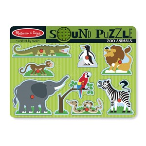 "Melissa and Doug (727) - ""Zoo Animals"" - 8 pièces"