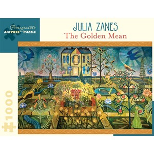 """Pomegranate (AA929) - Julia Zanes: """"The Golden Mean"""" - 1000 pièces"""