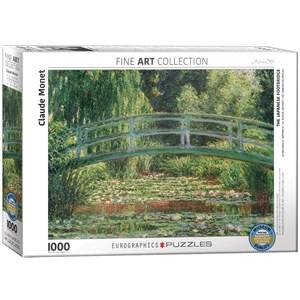 """Eurographics (6000-0827) - Claude Monet: """"Pont Japonais"""" - 1000 pièces"""