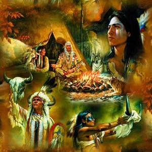 "SunsOut (21827) - Russ Docken: ""Native American Dreams"" - 1000 pièces"