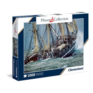 """Clementoni (39350) - Philip Plisson: """"Belem, le Dernier Trois-Mâts Français"""" - 1000 pièces"""