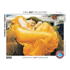 """Eurographics (6000-3214) - Frederic Leighton: """"Flaming June"""" - 1000 pièces"""