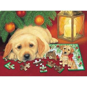 "SunsOut (59406) - Avril Haynes: ""A Puzzle for Christmas"" - 500 pièces"