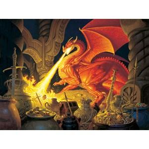 """SunsOut (75570) - Greg Hildebrandt: """"Smaug Dragon"""" - 1000 pièces"""