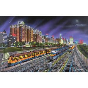 "SunsOut (21385) - Robert West: ""Chicago Nights"" - 1000 pièces"
