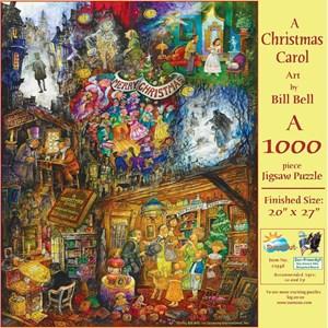 "SunsOut (21946) - Bill Bell: ""A Christmas Carol"" - 1000 pièces"