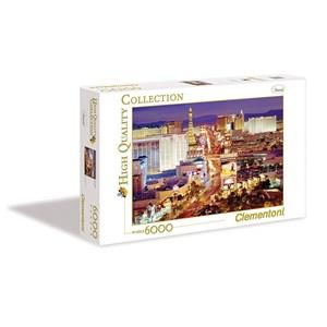 """Clementoni (36510) - """"Las Vegas"""" - 6000 pièces"""
