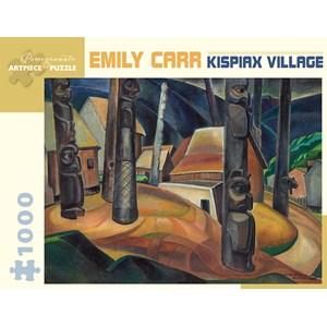 "Pomegranate (AA925) - Emily Carr: ""Kispiax Village"" - 1000 pièces"