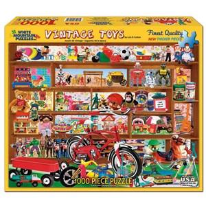 "White Mountain (972PZ) - Lois B. Sutton: ""Vintage Toys"" - 1000 pièces"