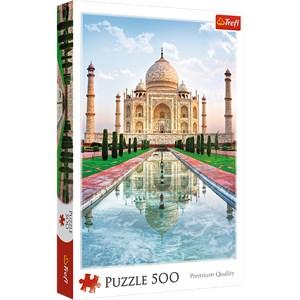 """Trefl (371642) - """"Taj Mahal, Inde"""" - 500 pièces"""