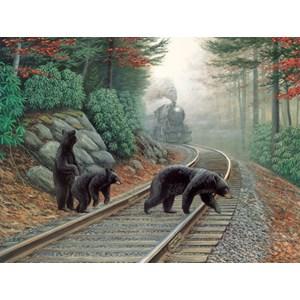 """SunsOut (48804) - Dan Christ: """"Bear Tracks"""" - 500 pièces"""