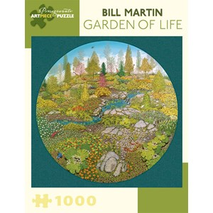 "Pomegranate (AA810) - Bill Martin: ""Jardin de la vie"" - 1000 pièces"