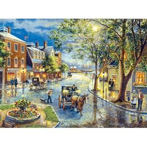 """SunsOut (28076) - Jess Hager: """"Seaport Marketplace"""" - 1000 pièces"""