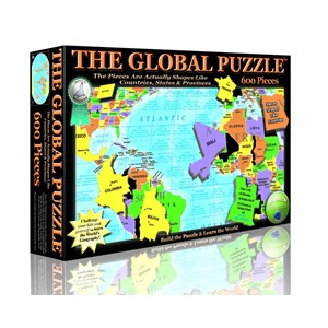 """A Broader View (151) - """"The Global Puzzle"""" - 600 pièces"""