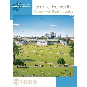 "Pomegranate (AA921) - Emma Haworth: ""Greenwich Park Proverbs"" - 1000 pièces"