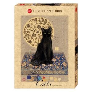 "Heye (29719) - Jane Crowther: ""Black Cat"" - 1000 pièces"
