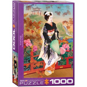 "Eurographics (6000-0742) - Haruyo Morita: ""Higasa"" - 1000 pièces"