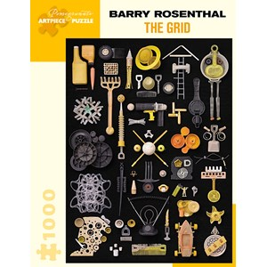 """Pomegranate (AA992) - Barry Rosenthal: """"The Grid"""" - 1000 pièces"""