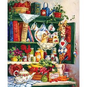 "SunsOut (31391) - Barbara Mock: ""Grandma's Cupboard"" - 1000 pièces"