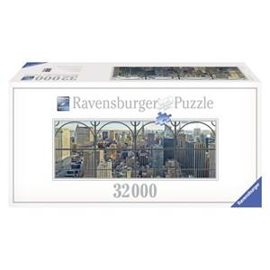 "Ravensburger (17837) - Keith Haring: ""New York City"" - 32000 pièces"