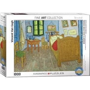 """Eurographics (6000-0838) - Vincent van Gogh: """"La Chambre en Arles"""" - 1000 pièces"""