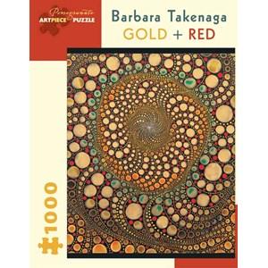 "Pomegranate (AA836) - Barbara Takenaga: ""Gold + Red"" - 1000 pièces"