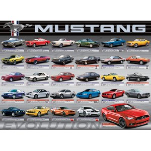 """Eurographics (6000-0684) - """"Ford Mustang Evolution 50th Anniversary"""" - 1000 pièces"""