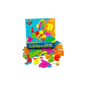 "Geo Toys (GEO 101) - ""Europe"" - 58 pièces"