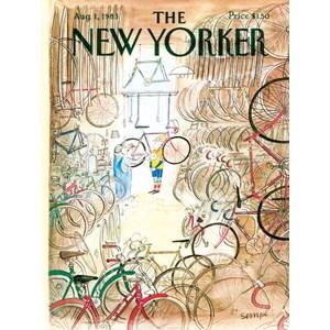 "New York Puzzle Co (NPZNY1706) - ""Bicycle Shop"" - 1000 pièces"