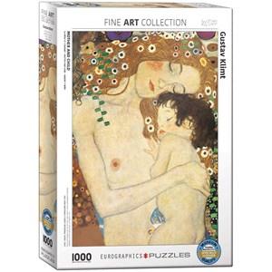 "Eurographics (6000-2776) - Gustav Klimt: ""Mother and Child"" - 1000 pièces"