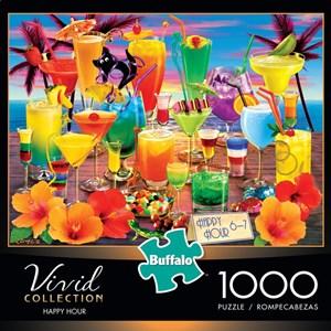 "Buffalo Games (11705) - Royce B. McClure: ""Happy Hour"" - 1000 pièces"