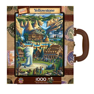 """MasterPieces (71171) - Eric Dowdle: """"Yellowstone"""" - 1000 pièces"""